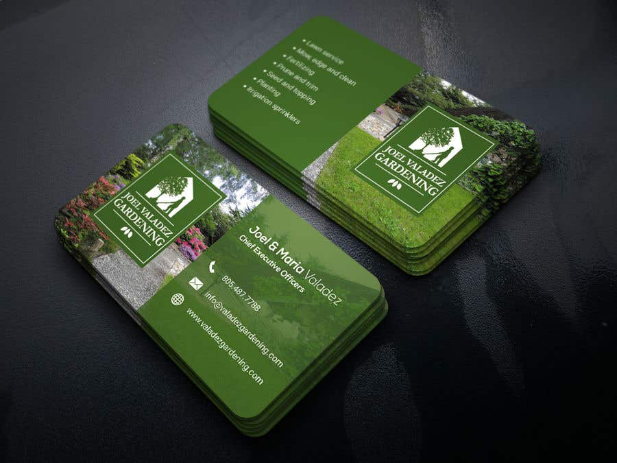 Proposition n°62 du concours Revamp Business Card for Landscaping/Gardening Service Provider