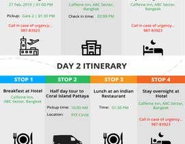 #3 cho One page multi day package itineary design HTML -100% responsive bởi Divyansch