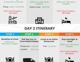 Nro 3 kilpailuun One page multi day package itineary design HTML -100% responsive käyttäjältä Divyansch