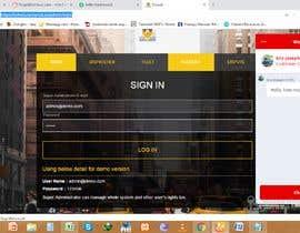 Nro 10 kilpailuun One page multi day package itineary design HTML -100% responsive käyttäjältä ut20618