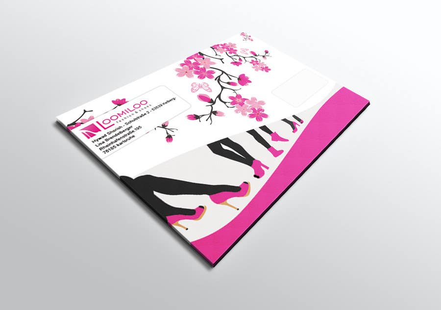 Contest Entry #                                        18                                      for                                         Envelope / Mailing Design