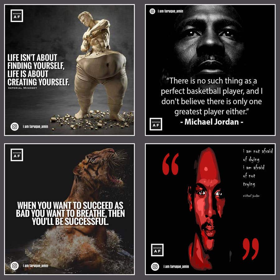 Penyertaan Peraduan #56 untuk Motivational quotes design