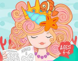 #53 for Mermaid Activity Book Cover (Ages 4-6) by marianayepez