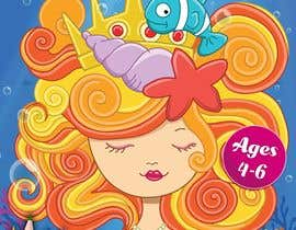 Dineshdsnr tarafından Mermaid Activity Book Cover (Ages 4-6) için no 50