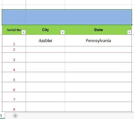 Konkurrenceindlæg #6 for separate cityy and state into different cells in excel