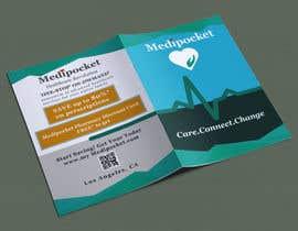 #8 cho Brochure design: unique, half fold for digital healthcare company bởi marziashafa