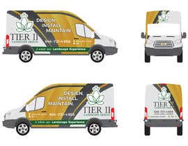 #10 for Vehicle wrap design by hire4design