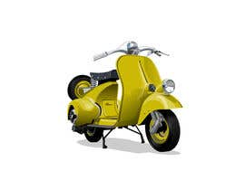 #3 for Design (draw, model or computer genterate) a motor scooter for me. by webdfelipe