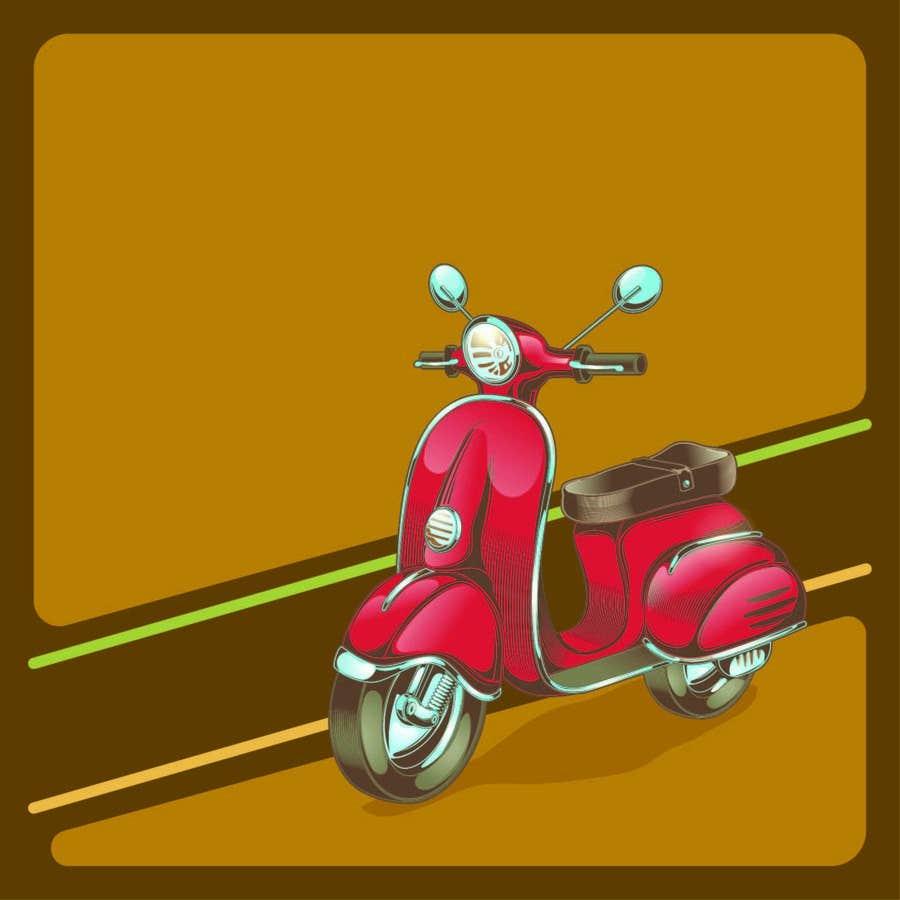 Konkurrenceindlæg #4 for Design (draw, model or computer genterate) a motor scooter for me.