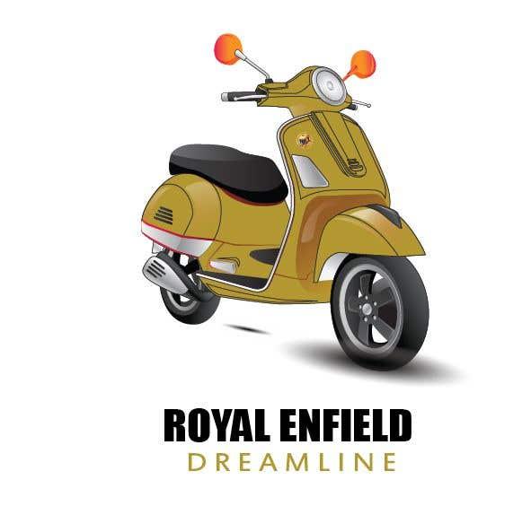 Konkurrenceindlæg #7 for Design (draw, model or computer genterate) a motor scooter for me.