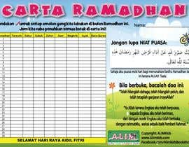 #3 untuk Ramadan calendar design oleh NurAnna