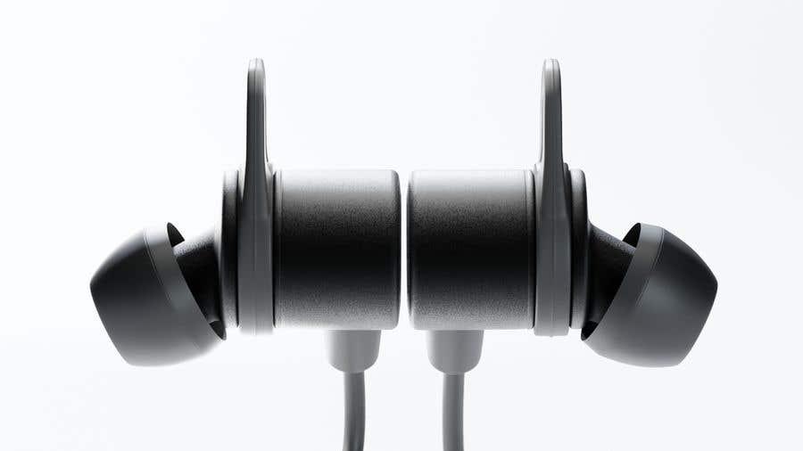 Proposition n°6 du concours 3d Model for earphone