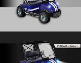 nº 24 pour Photoshop headlights into golf cart par crazywebonline