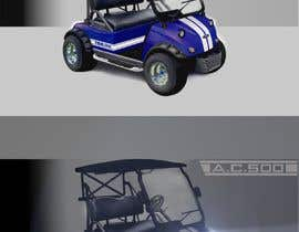 nº 26 pour Photoshop headlights into golf cart par wanilala
