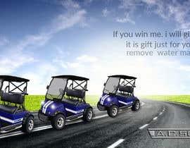 #18 untuk Photoshop headlights into golf cart oleh sabbir47