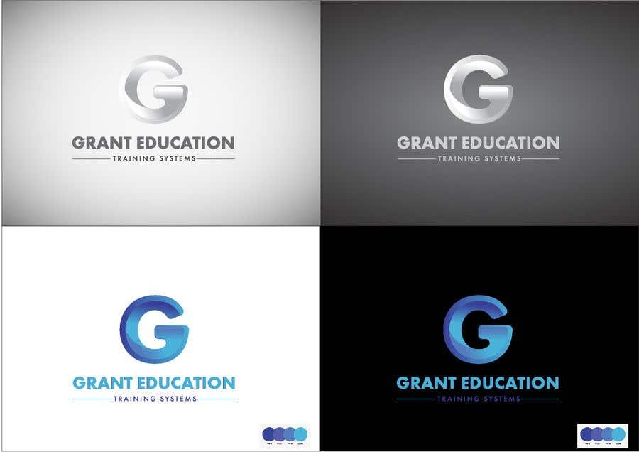 "Intrarea #59 pentru concursul ""Easy logo for a Grant Education Training Systems"""