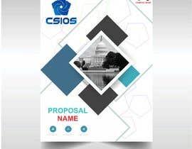 Nro 53 kilpailuun Build me a proposal cover page käyttäjältä kashmirmzd60