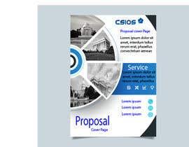 Nro 45 kilpailuun Build me a proposal cover page käyttäjältä ArfanDesigner