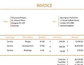 #47 para Create a Branded Excel Invoice for a Jewellery Company por hafizur2405