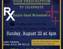 #27 untuk Graduation invitation card oleh shahinal