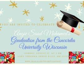 #28 untuk Graduation invitation card oleh SITINURFATIEN