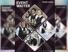 #39 cho Design Flyers for My Waiter/Bartender Hire Business bởi mdabunayem1999