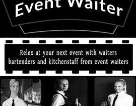 #40 cho Design Flyers for My Waiter/Bartender Hire Business bởi Mdarifulislamllb