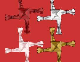 rouftarek tarafından Design me an Image Cartoon Style - Irish St Bridgets Cross için no 7