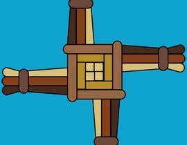 #18 untuk Design me an Image Cartoon Style - Irish St Bridgets Cross oleh rouftarek