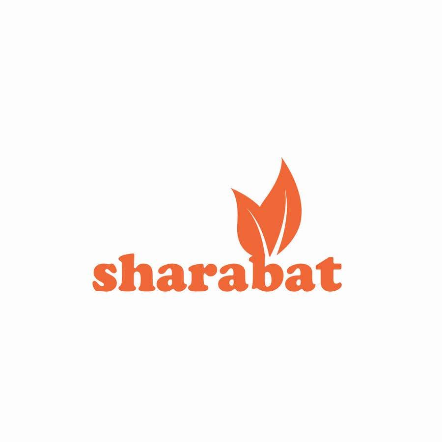 Kilpailutyö #99 kilpailussa Logo for a refreshing drink - sharabat