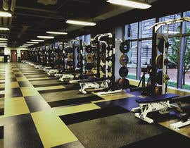 Nro 8 kilpailuun I need photo 2589 to have the machines on the right wall taken off and have 6 weightlifting racks put in there place.  Similar to the racks you see in the second picture 2612 käyttäjältä habeeba2020