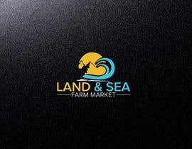 #236 for Land & Sea Farm Market Logo by logodesign97