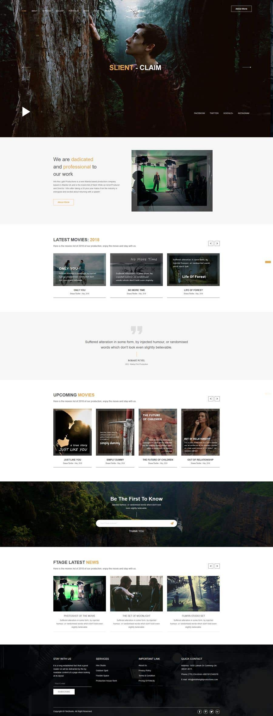 Penyertaan Peraduan #6 untuk Build a Beautiful Website