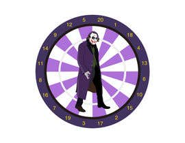 #7 for Illustrate a Joker Logo with dartboard by erwantonggalek