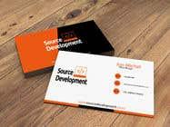 Graphic Design Inscrição do Concurso Nº217 para Re-Design a Business Card for a Website & App Development Company