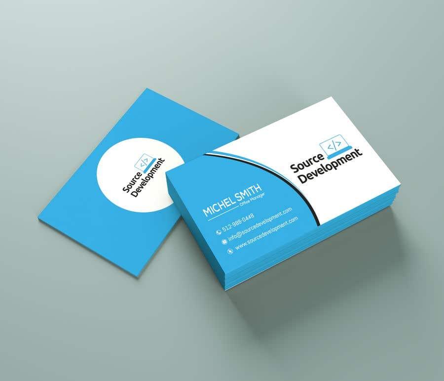 Inscrição nº 244 do Concurso para Re-Design a Business Card for a Website & App Development Company
