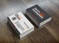 Graphic Design Inscrição do Concurso Nº286 para Re-Design a Business Card for a Website & App Development Company