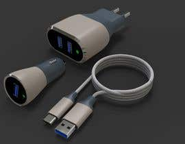 #42 for USB Chargers and cables with Family design by ahmadnazree