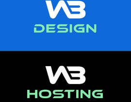 #50 for Logo Design WB Design and WB Hosting af Ripon8606