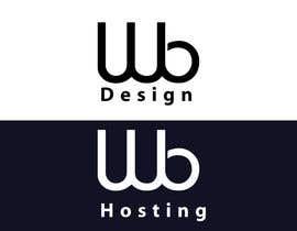 #35 for Logo Design WB Design and WB Hosting af alamin355