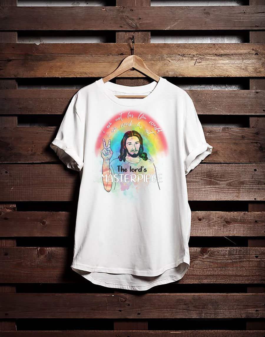 Penyertaan Peraduan #34 untuk create an awesome t shirt design for my merch