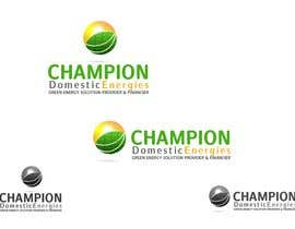 #80 dla Logo Design for Champion Domestic Energies, LLC przez RGBlue