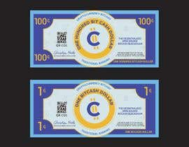 #29 для Make a design for the paper money bills for a cryptocurrency (BitCash Dollar) от cjsevilleja