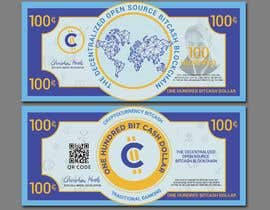 #41 для Make a design for the paper money bills for a cryptocurrency (BitCash Dollar) от cjsevilleja