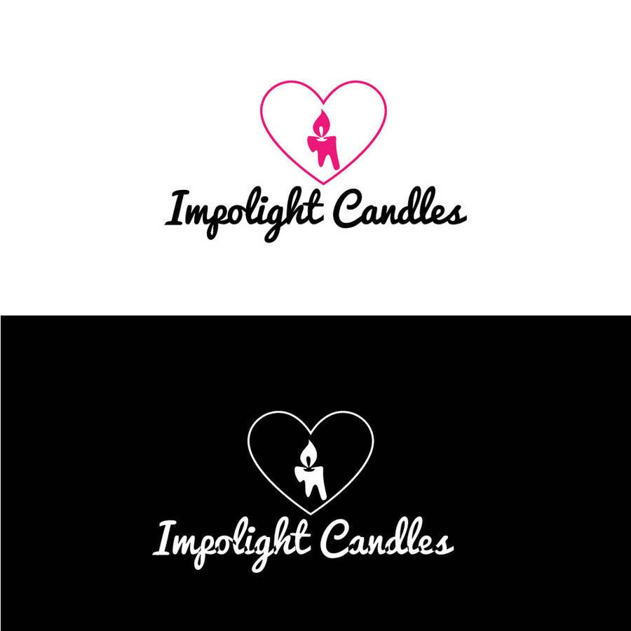 Contest Entry #9 for Impolight Candles Logo