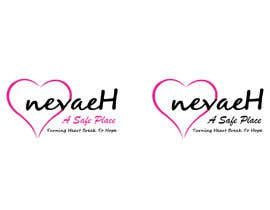 "Nro 17 kilpailuun 1. I want the logo to have the format of IMG_0602 2. With a pink heart like IMG_0603 3. With the script of IMG_0604 4. 1st line. ""nevaeH"" 2nd line ""Safe Place"".  3rd ""Turning heart break to hope"" käyttäjältä LKTamim"