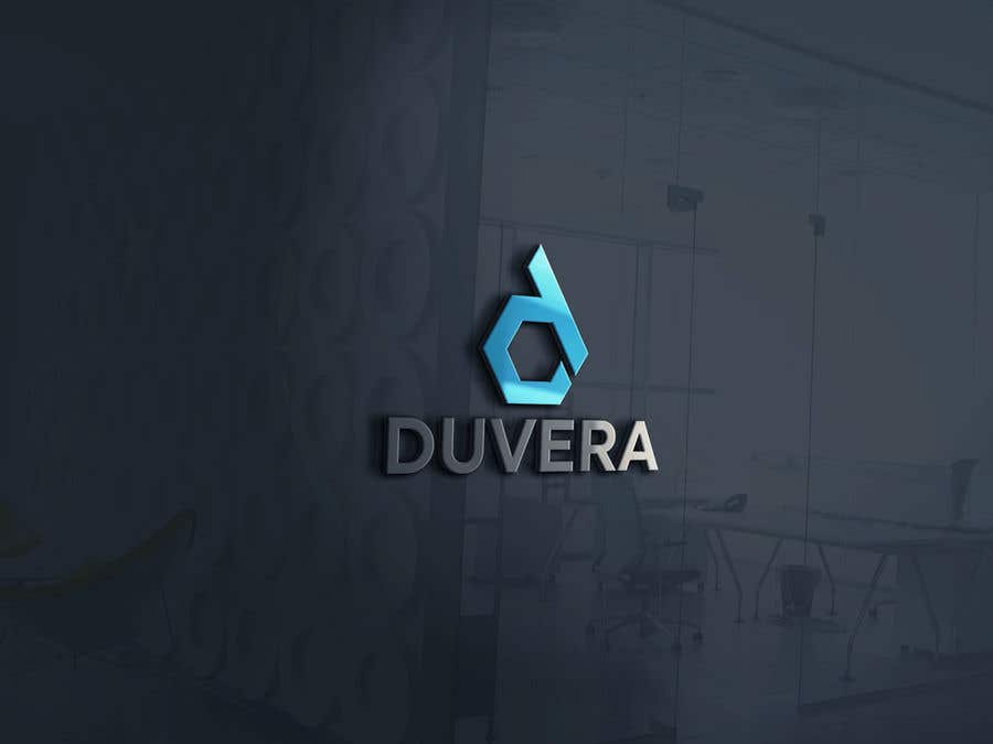 Contest Entry #18 for Company name is Duvera. I need a contemporary and minimalist logo designed. We are looking to use a white, gold, and red color scheme.