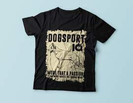 #37 для Design for a T-Shirt around Dogsports от Exer1976