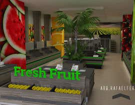 #39 for Design a 3D Fruit Grocery and Cold Room Storage plus a 2D Floor plan by arqfernandezr