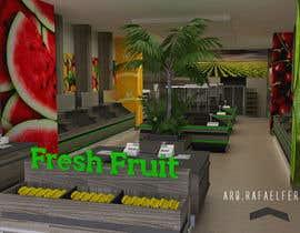 #39 for Design a 3D Fruit Grocery and Cold Room Storage plus a 2D Floor plan af arqfernandezr